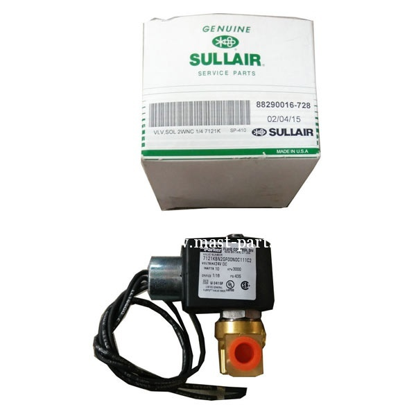 Sullair parts solenoid valve | Construction Spare Parts